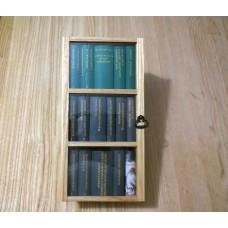 Шкафчик книжный с дверцей